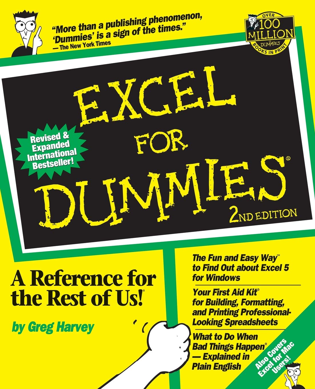 Excel For Dummies: Amazon ca: Greg Harvey: Books