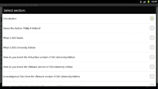 Amazon com: Studio: How Do You Do This in SAS?: Appstore for
