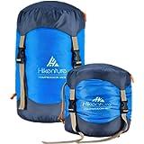 Hikenture Compression Sack for Sleeping Bag, Upgrade 2.0 Anti-Tear Nylon Sleeping Bag Stuff Sack, 10L/14L/20L/30L Water…