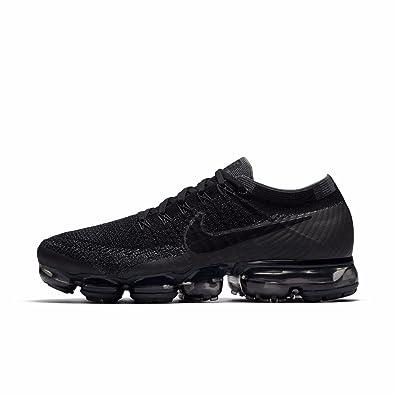Nike Men's Air VaporMax Flyknit Running Shoe BLACK/ANTHRACITE-DARK GREY 13.0