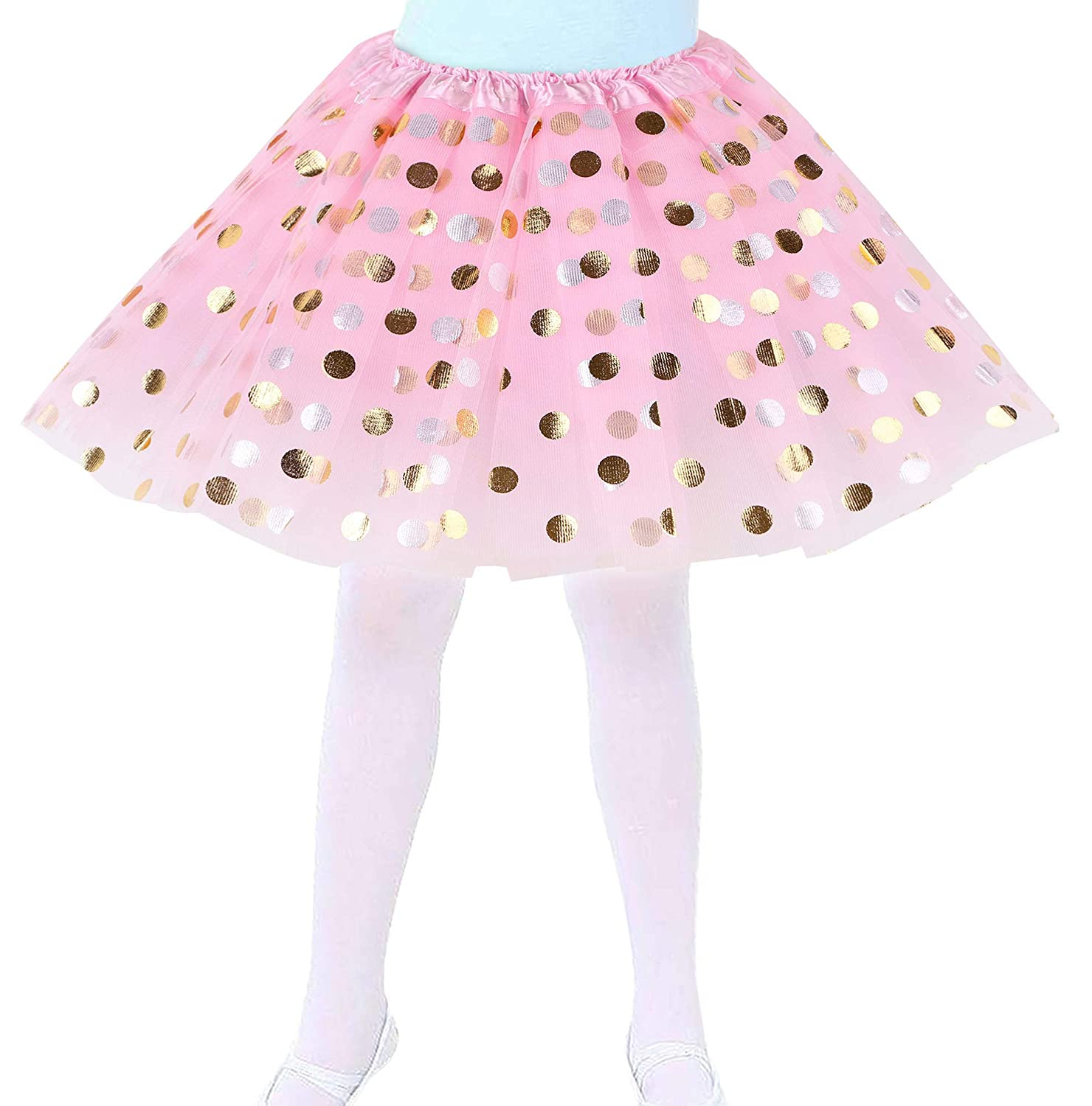 d7bdc8f03a Dress your little princess for ballet class in this sweet dance tutu. The  cute ruffled waistband is elastic and has no closures which makes it easy  for your ...