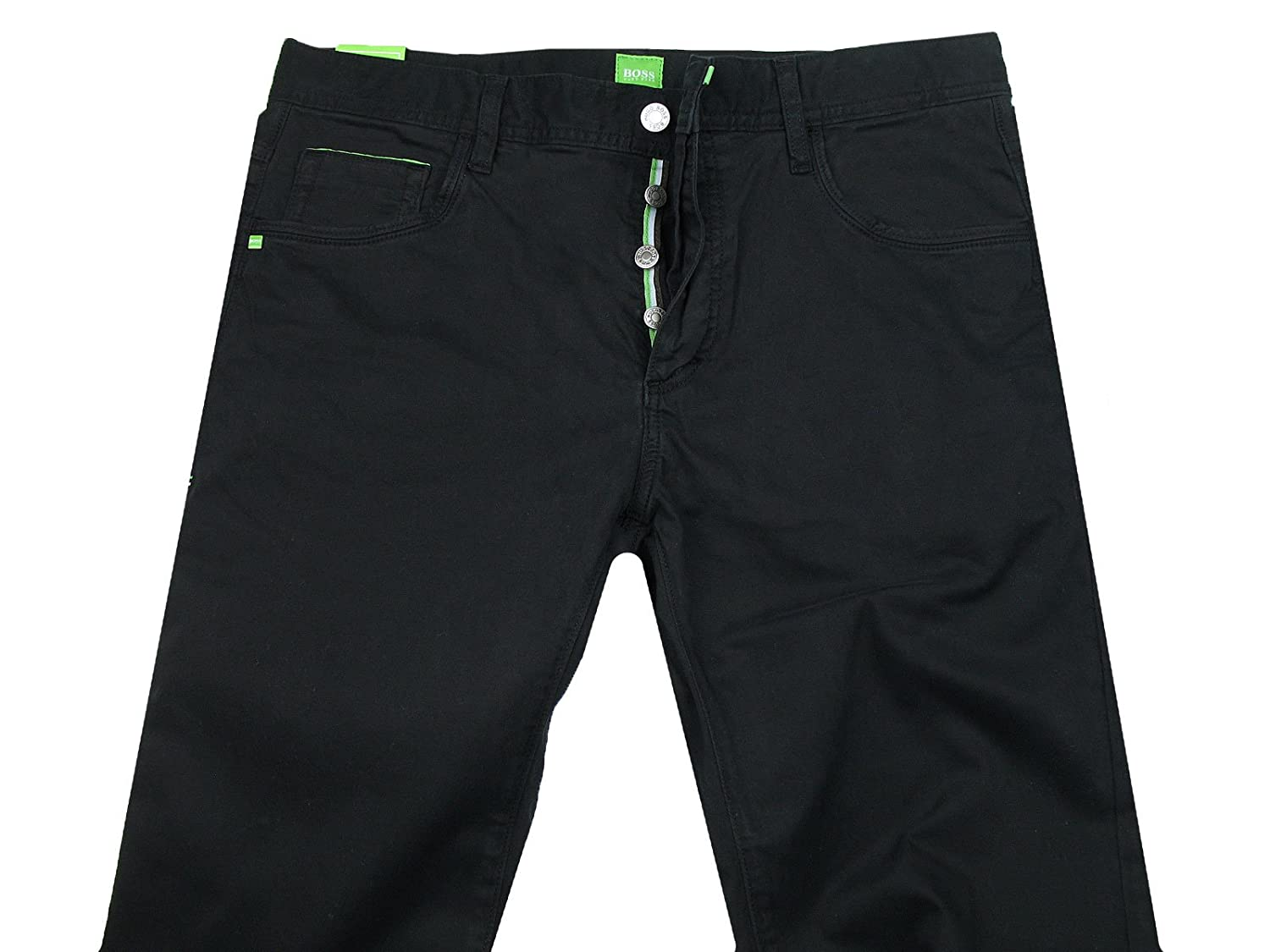 BOSS GREEN with A 5-Pocket DENOX Trousers Black