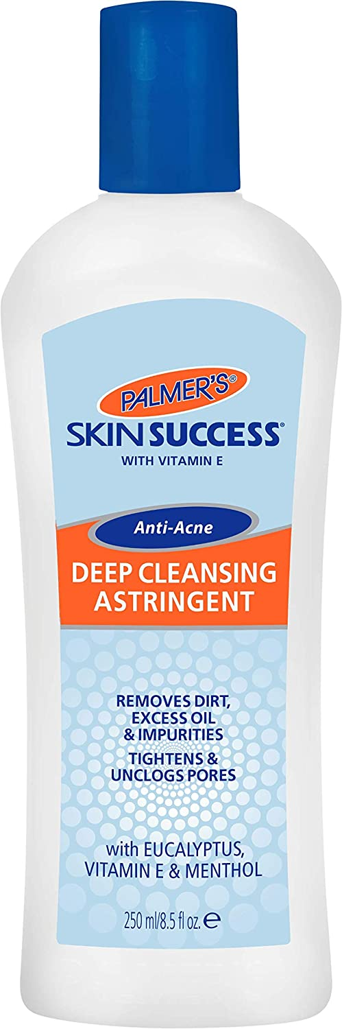 Palmer's Skin Success Deep Cleansing Facial Astringent With Vitamin E, 8.5-Ounce Bottle (Pack of 4)