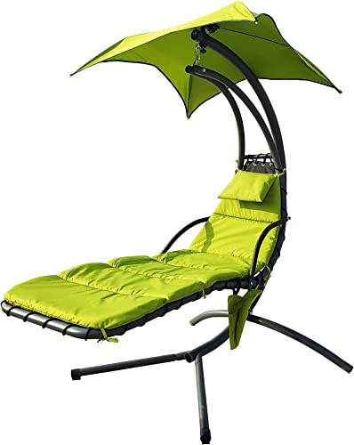 Editors' Choice: BalanceFrom Hanging Curved Chaise Lounge Chair Swing