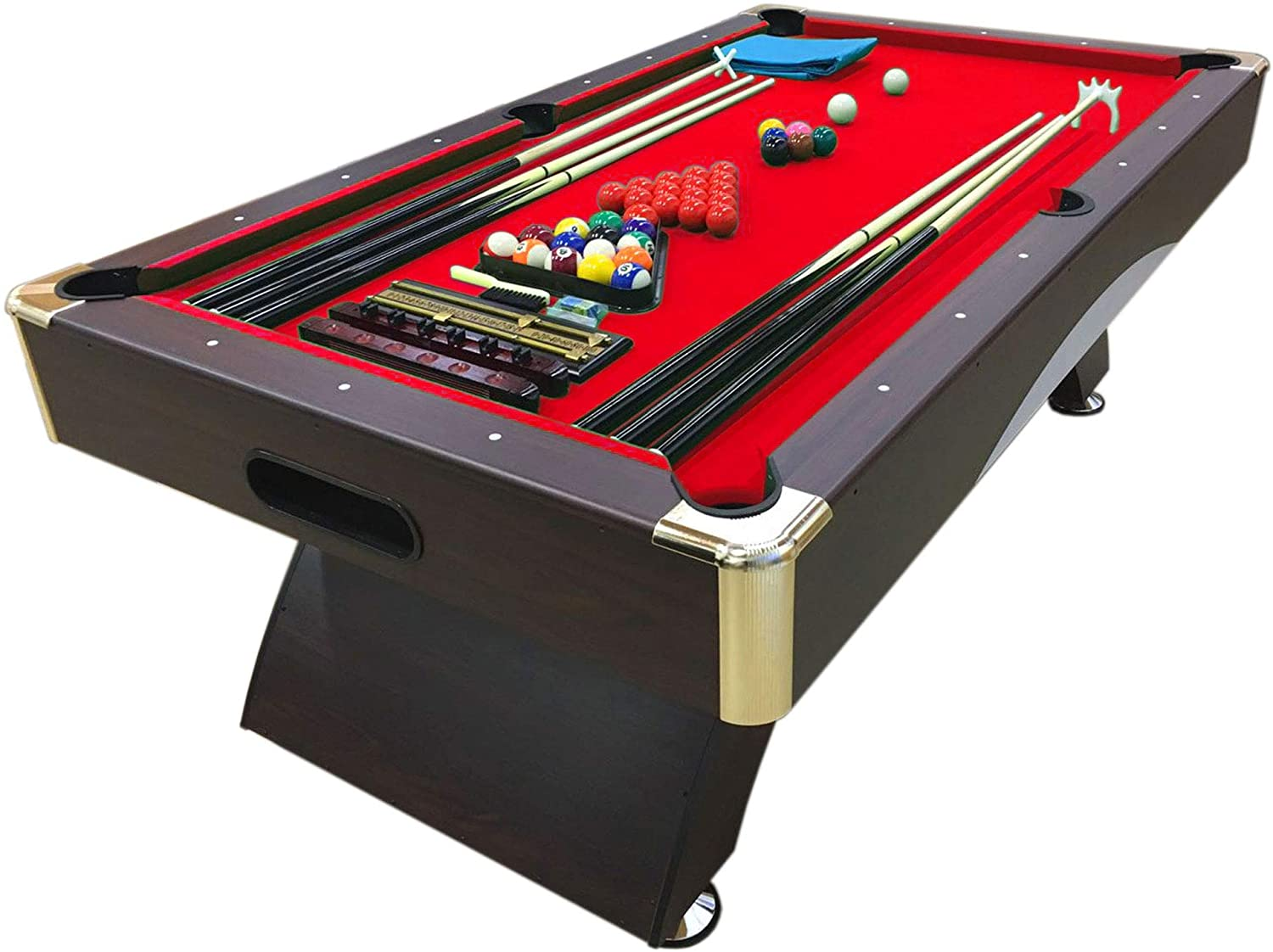 Mesa de billar juegos de billar pool 7 ft Modelo NAPOLEONE FULL OPTIONAL Carambola FULL Medición 188 X 96 cm Nuevo Embalado disponible: Amazon.es: Deportes y aire libre