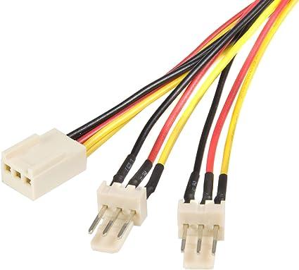 Startech.com TX3SPLIT12 - Cable Divisor para Ventilador: Amazon.es ...