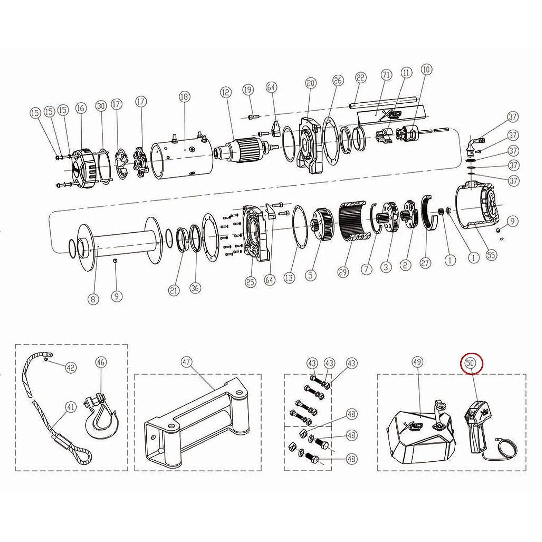 warn winch pn 34809 schematic