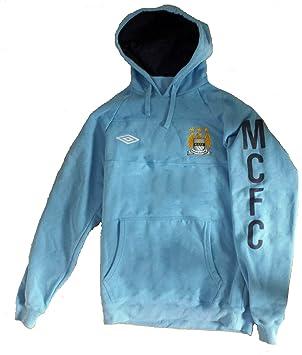 Umbro Manchester City - Sudadera con Capucha para Hombre, Mujer, Azul, Medium: Amazon.es: Deportes y aire libre