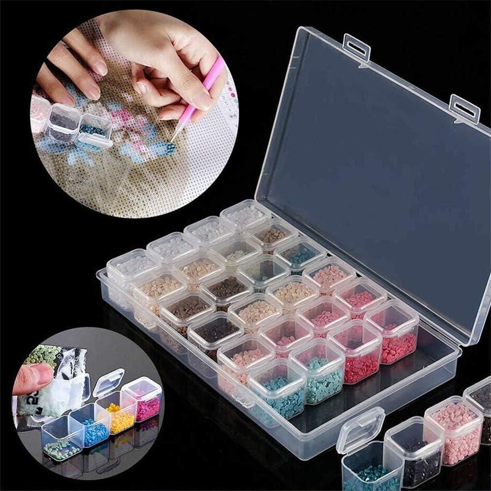 Kit Accessori Completo 22 PCS Diamante Ricamo Box 5D Diamante Della Pittura A Manuale Diamante Arte Del Ricamo Fai Da Te