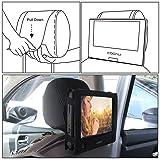 COOAU Car DVD Player Headrest Mount Holder