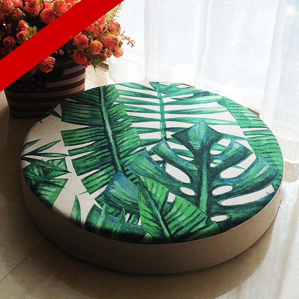 MXJ61 Cuscino a forma di rotondo Sedia da ufficio Cuscino Computer Chair Cuscino studenti Cuscino più spessa Cuscino invernale Cuscino Sedia da pranzo Diametro cuscino: 50 cm