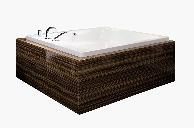 Aquatica Lacus-Wht Drop-In Acrylic Bathtub - - Amazon.com