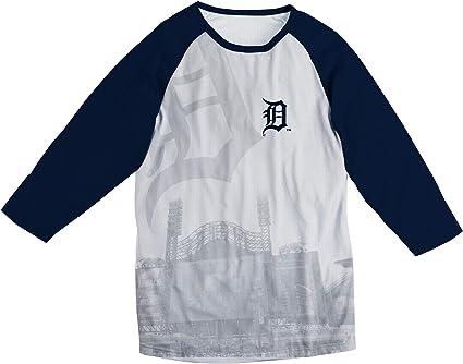 Forever Collectibles MLB Men/'s Cleveland Indians Big Logo Flag Tee