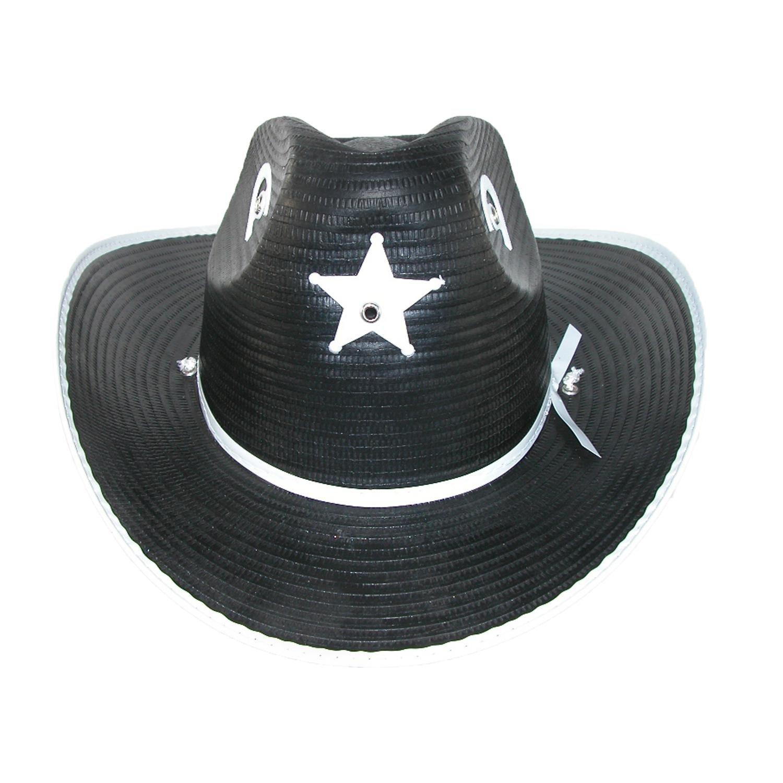 CTM Estrella occidental de Texas y sombrero de vaquero de herradura para  niños Talla única Negro  Amazon.es  Ropa y accesorios 27695b3d2a3