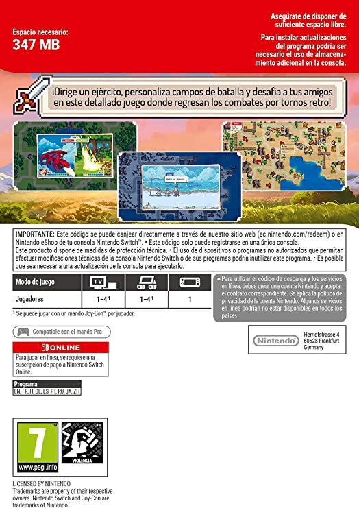 Wargroove | Switch - Download Code: Amazon.es: Videojuegos