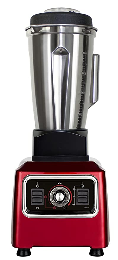 Alto Rendimiento Licuadora HLM de 15.12 Granada Rojo, incluye ...