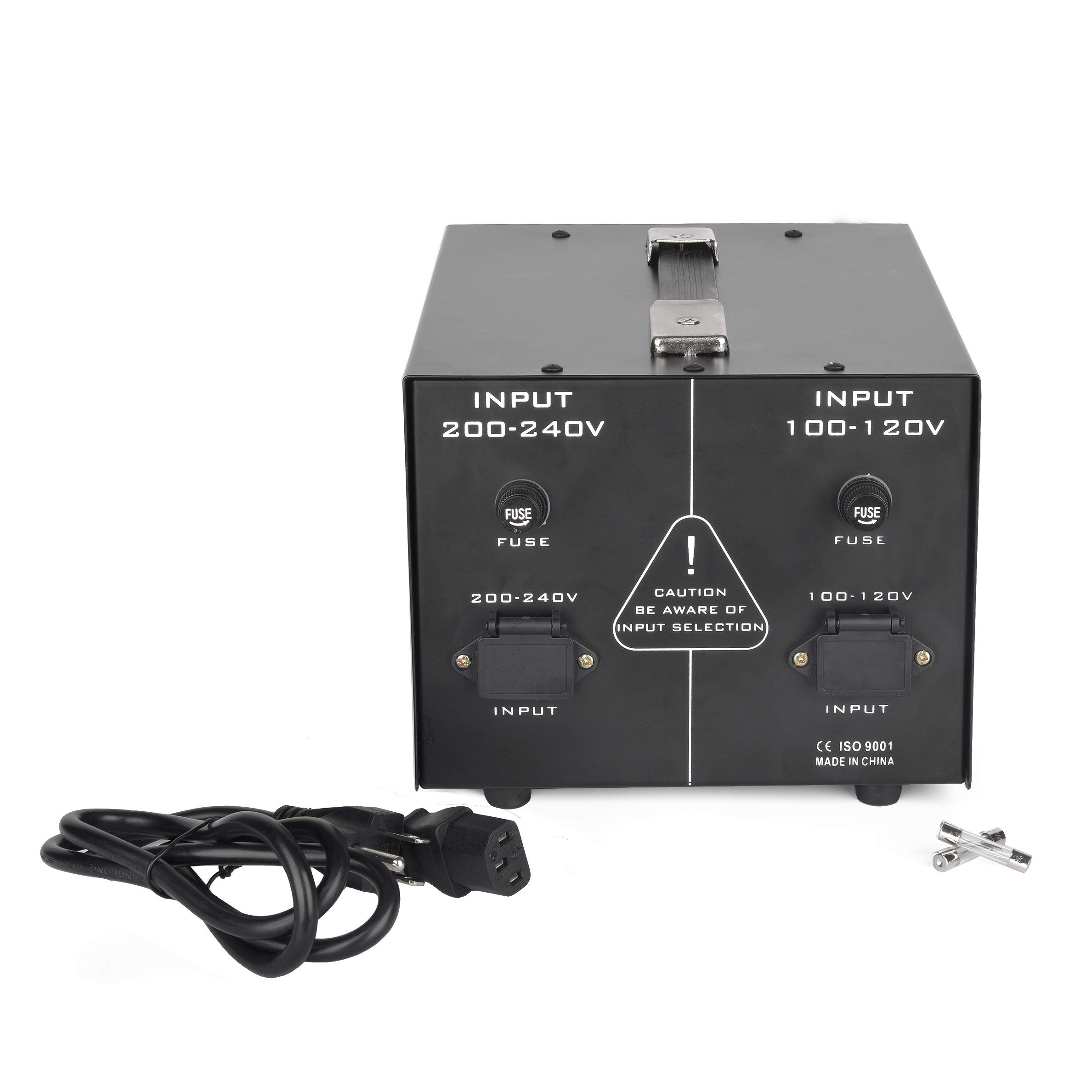 3000W Auto Step Up & Step Down Voltage Transformer Converter, ST-Pro Series Heavy-Duty AC 110/220V Converter with US Standard, Universal, Schuko AC Outlets & DC 5V USB Port by Goldsource by Goldsource (Image #6)