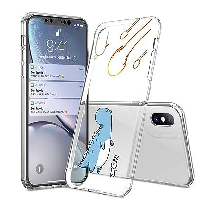 Amazon.com: Carcasa para iPhone con diseño de dinosaurio ...