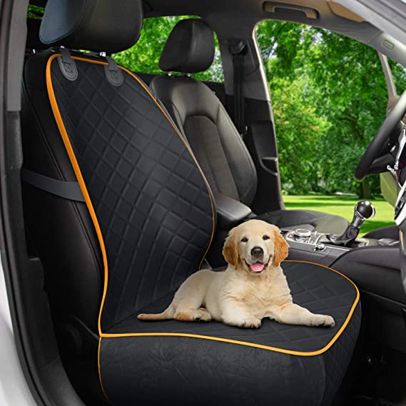 Amazon.com : Active Pets Front Seat Dog Cover, Durable Protector Against Mud & Fur Waterproof, Scratch Proof & Nonslip Seat Pet Cover - Dog Car Seat Cover for Front Seat With Safety Anchors for Cars, Trucks & SUVs : Pet Supplies