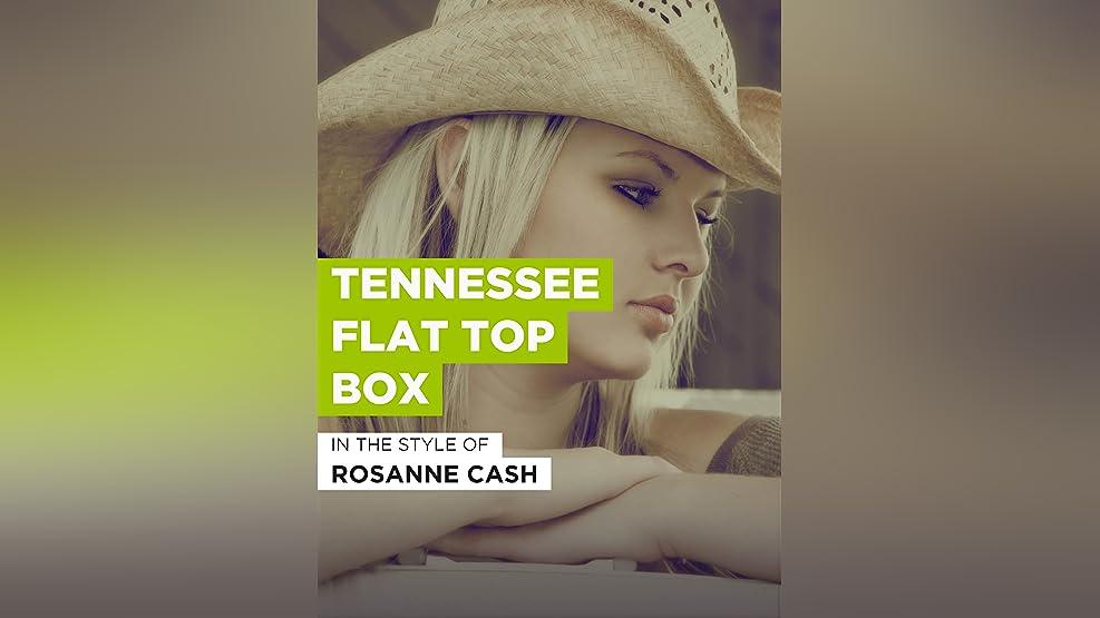 Tennessee Flat Top Box