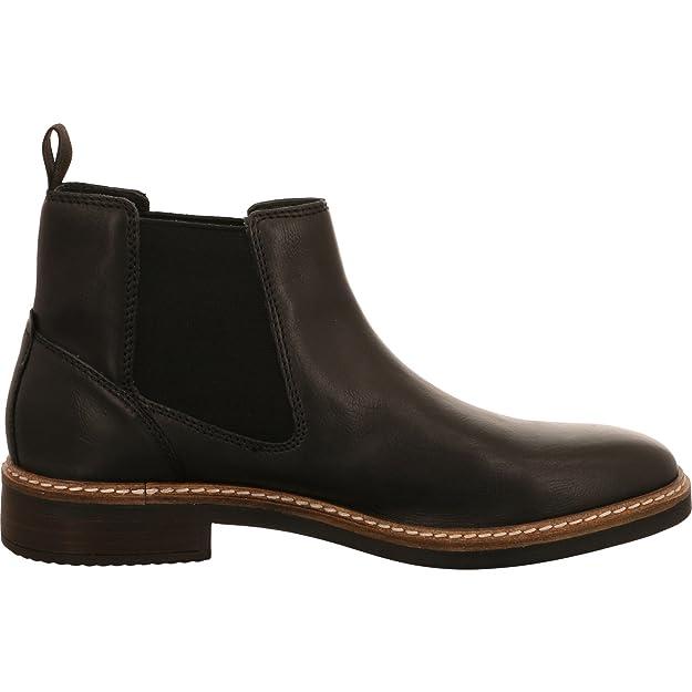 e5c1692aa5104 Clarks pour Homme Blackford Top Chelsea Bottes - Noir - Noir,  Amazon.fr   Chaussures et Sacs