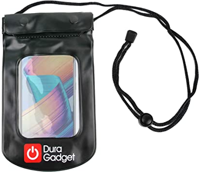 DURAGADGET Funda Impermeable Negra para Smartphone Huawei Honor Play, Huawei Mate 20 Lite: Amazon.es: Electrónica