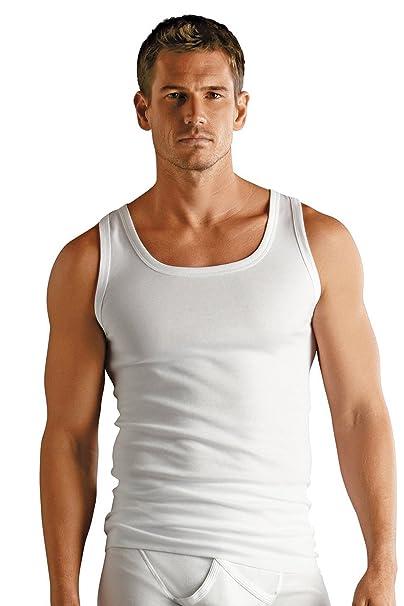 ... de algodón lisa una mayor comodidad sin mangas de mujer camiseta sin mangas de mujer de costura para chalecos de costura para ropa interior: Amazon.es: ...