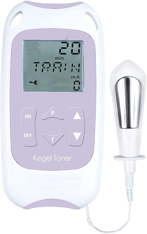 Kegel Toner. Electroestimulador suelo pélvico. Para tratar incontinencia urinaria de esfuerzo. 2 programas. Funciona con pilas