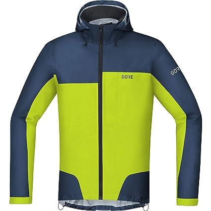 GORE WEAR C5 Chaqueta de ciclismo con capucha para hombre GORE-TEX, XXL,