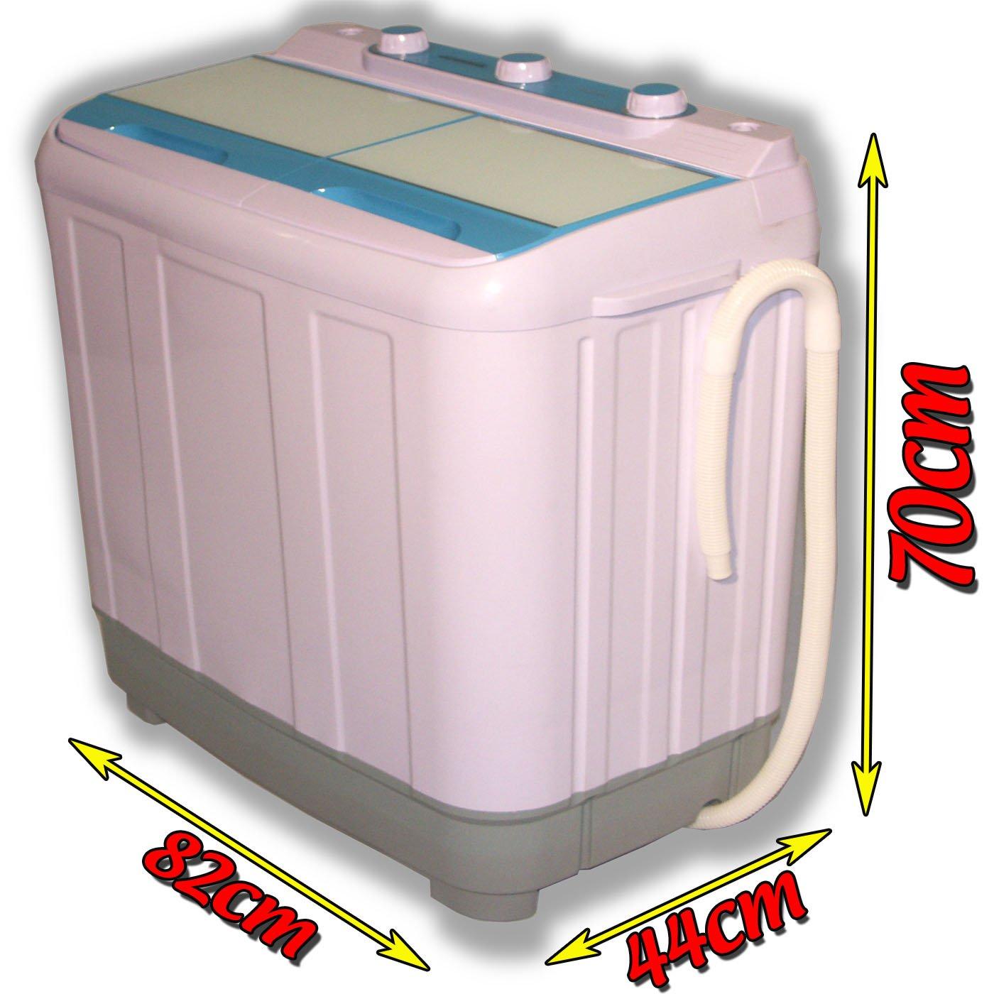 Lavadora y secadora para caravana (6,5 kg), portátil, carga por la ...