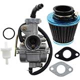 AUTOKAY PZ20 Carb Carburetor 49cc 70cc 90cc 100cc 110cc 125cc Coolster NST for Chinese ATV Quad Go kart 4 strokeSUNL…