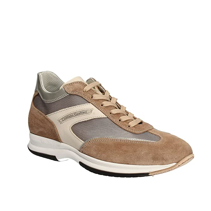 Cristiano Gualtieri 458/1P Sneakers Man Beige 41 DAP54TyyC