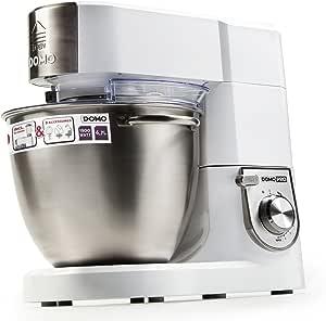 Domo DO9072KR - Robot de cocina (Acero inoxidable, Color blanco, Acero inoxidable, Mezcla): Amazon.es: Hogar