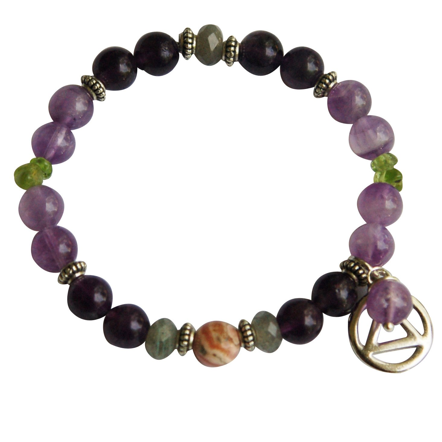 Serenity + Sobriety Spiritual Bracelet for Overcoming Addictions