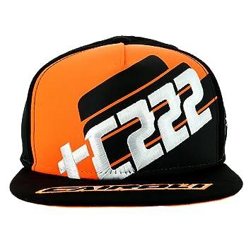Tony Cairoli 222 Moto Cross Racing Negro Gorra Oficial 2017  Amazon ... 14836a9b147