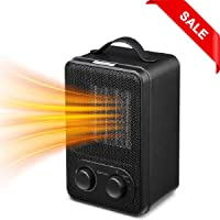 Sancusto 1000/1800W Portable Personal Home Heater with 3 Modes