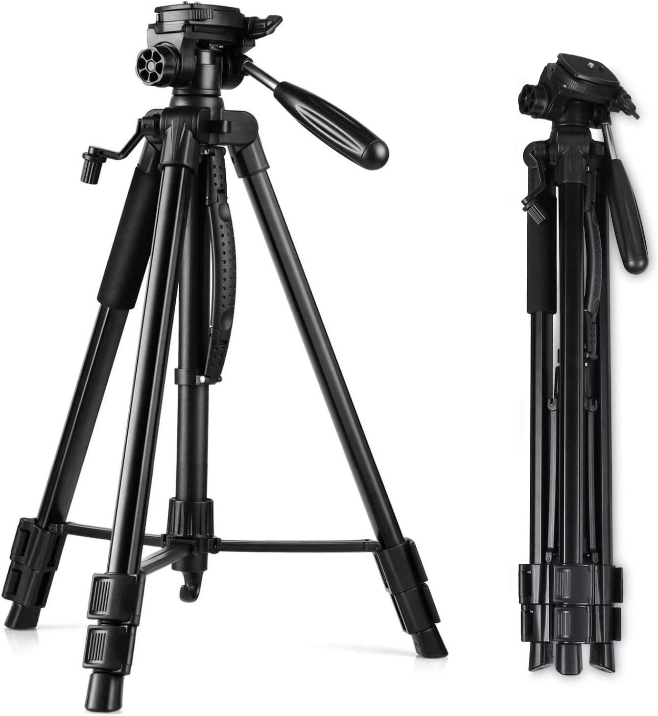 Amzdeal Kamera Stativ 160cm 63 Aluminium Leichtes Kamera