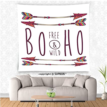 Amazon VROSELV Custom Tapestry Arrow Decor Collection Boho Chic Simple Bedroom Layout Planner Free Collection