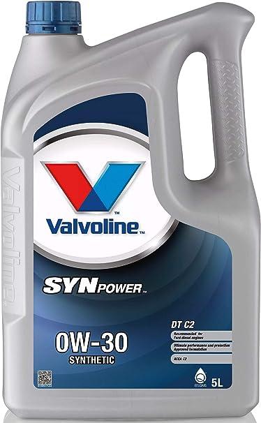 Valvoline Motoröl Motorenöl Motor Motoren Öl Motor Engine Oil Diesel 0w 30 Synpower Dt C2 5l Auto