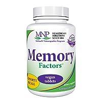 Michael's Naturopathic Programs Memory Factors - 60 Vegan Tablets - Provides Nourishment...