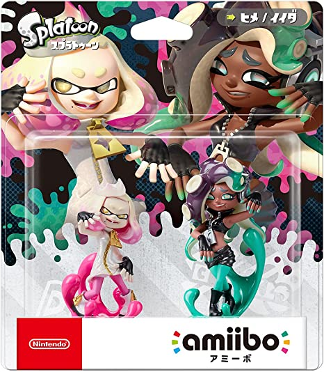 Amiibo Splatoon 2 Nintendo Switch Cefalopop Set Marina / Pearl Perla (Japan Import): Amazon.es: Juguetes y juegos