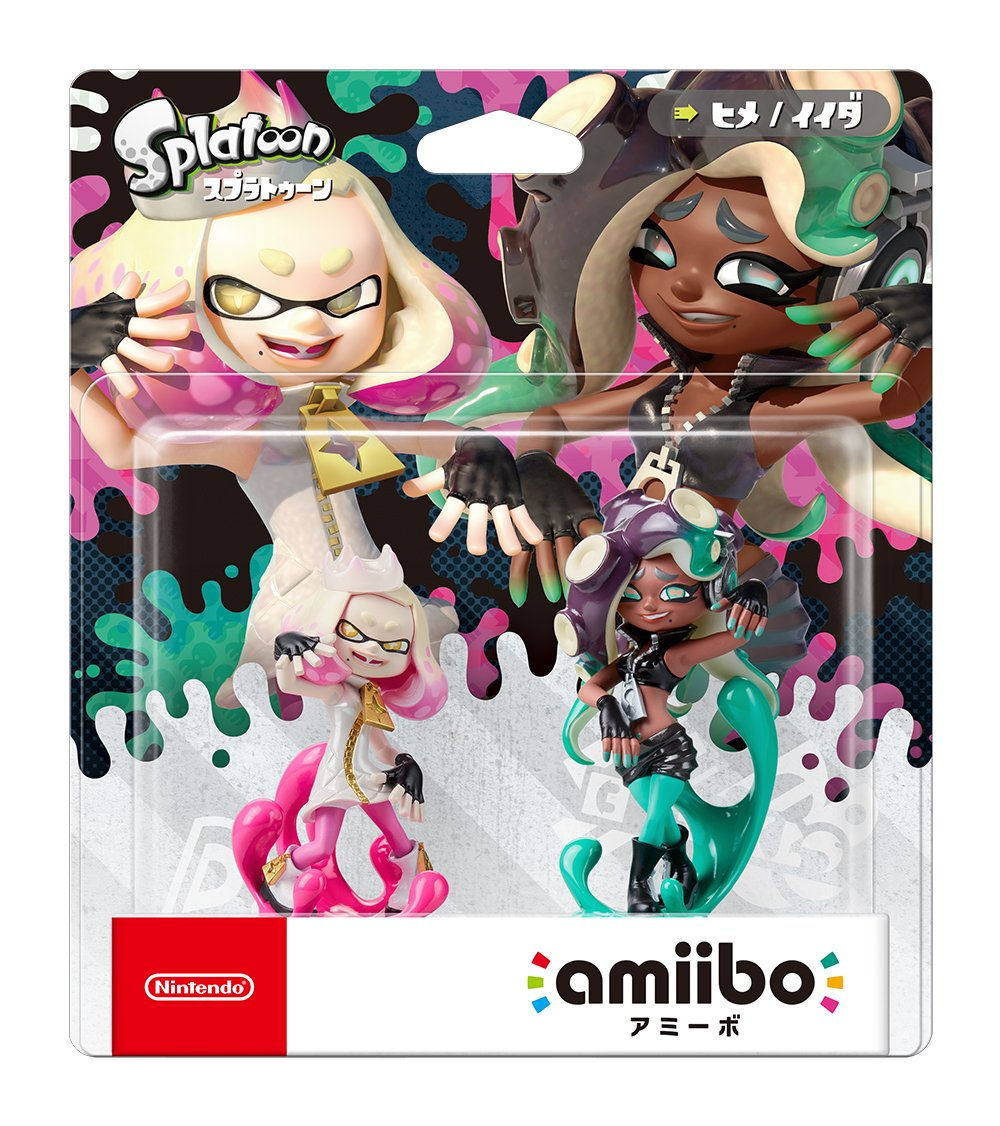 Nintendo Amiibo Pearl & Marina 2-Pack Set (Splatoon series) Japan Ver. by Nintendo (Image #1)