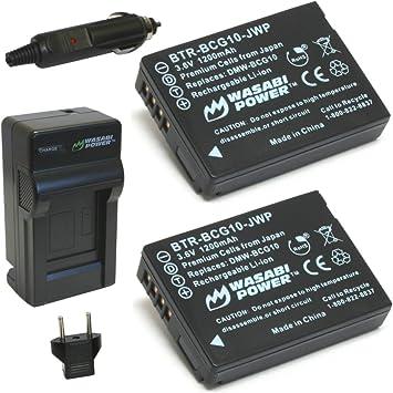 Amazon.com: Wasabi Power – Batería y Cargador para Panasonic ...