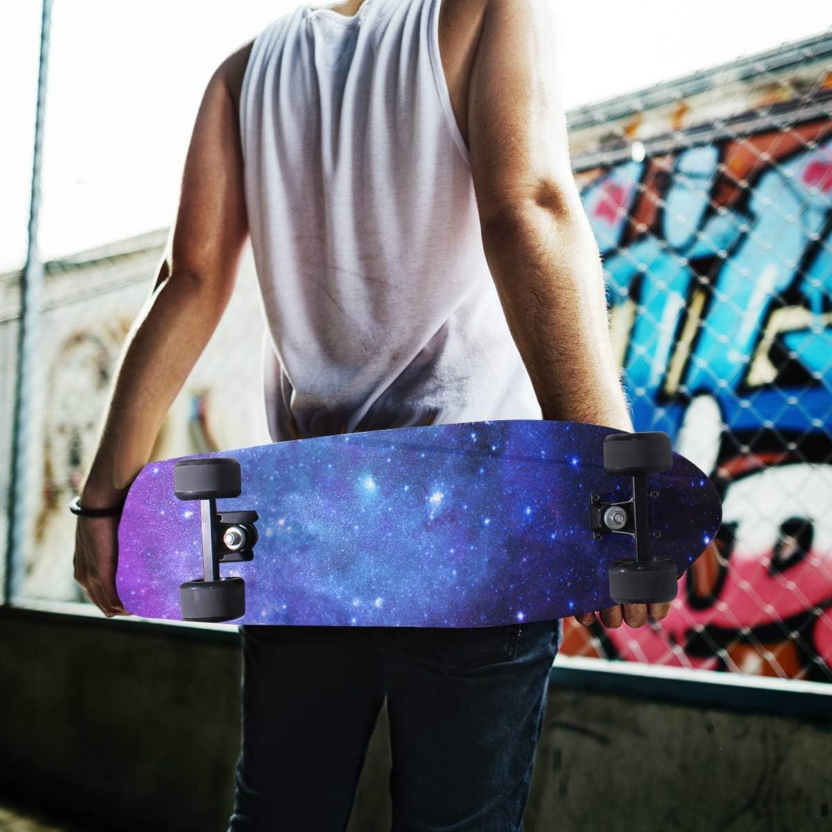 84cm x 23cm Anti Slip Bubble Free Waterproof Grip Tape Sheet Sandpaper for Skateboard UHOO Skateboard Griptape,Space with Billion Stars Inspiring View Nebula Galaxy Cosmos Infinite 1 pcs 9 x 33