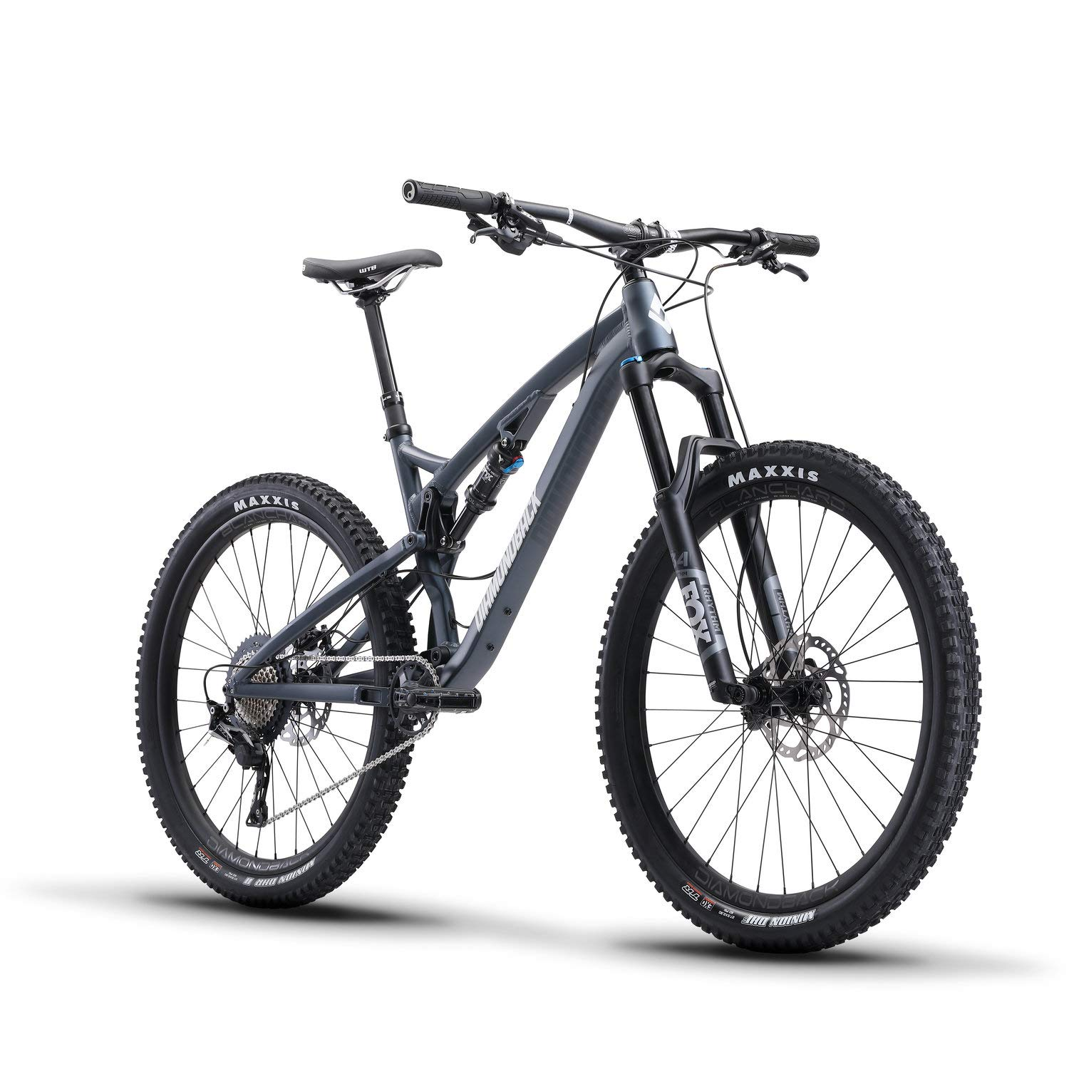 3259542a1d4 Amazon.com : Release 2 Full Suspension Mountain Bike, Blue, 19/LG : Sports  & Outdoors
