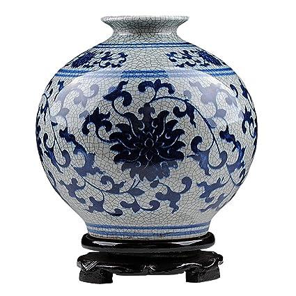 Amazon Peaceipus Ceramic Antique Blue And White Porcelain Vase