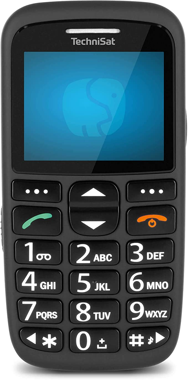 Technisat Techniphone Isi 3 Seniorenhandy Ohne Vertrag 2 2 Zoll Display Mini Sim Microsd Kartenslot Große Tasten Inklusive Ladestation 900 Mah Akku Schwarz Elektronik