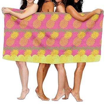 Universal Psych Pineapple2 Fashion Hotel de lujo y Spa toalla de baño toalla de baño: Amazon.es: Hogar