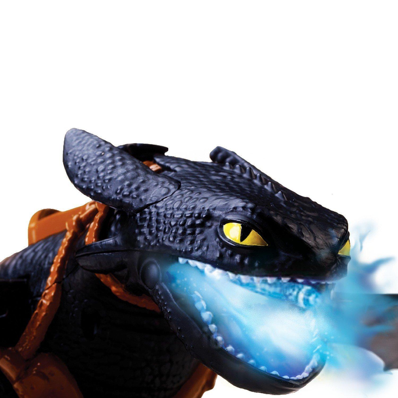 Bizak Dragons - Berk Lanzallamas Desdentado, 50 x 55 cm, Color Negro 61926555