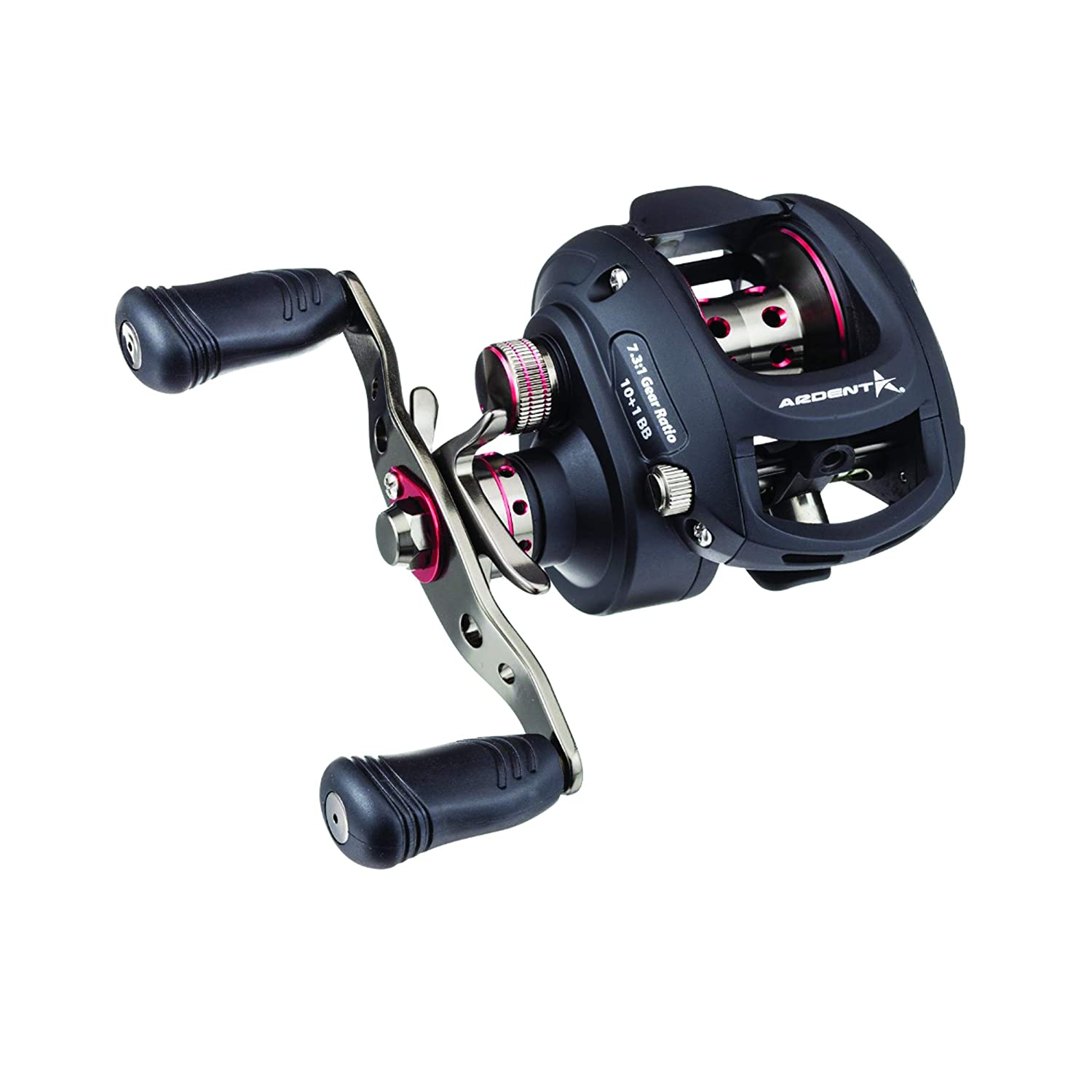 Ardent Apex Pro Baitcasting Reel, 7.3 1 Gear Ratio, 10 1 BB, Right Handed